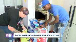 Local barber collecting donations to help areas ravaged by Dorian [Video]