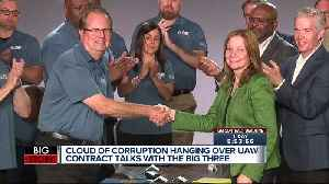 News video: UAW extends contracts with Ford & FCA indefinitely amid GM negotiations