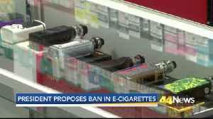 Concerns Over Proposed Flavored E-Cigarette Ban [Video]