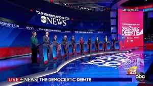 Dem Debate Reaction [Video]
