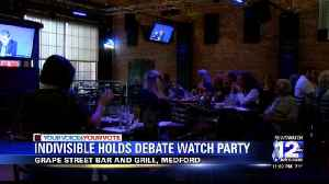 Local Democrats and Republicans react to debate and presidential race so far [Video]