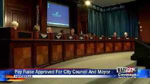 City Council Approves Pay Raise [Video]