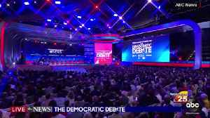 Democratic Presidential Debate take away [Video]
