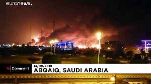 Drone attacks on Saudi Arabia oil refineries [Video]