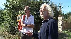 Heathrow drone protester asks to be arrested [Video]
