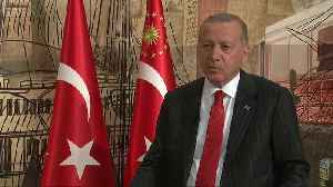 Erdogan speaks to Reuters about S-400 missile system [Video]