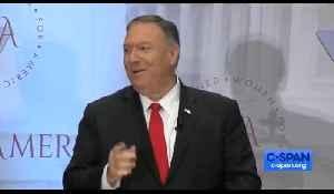 Mike Pompeo mocks The Washington Post's reporting [Video]