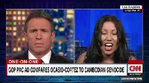 CNN's Chris Cuomo clashes with Elizabeth Heng over AOC ad [Video]