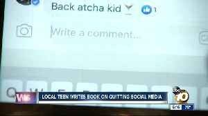 San Diego teen writes book on quitting social media [Video]