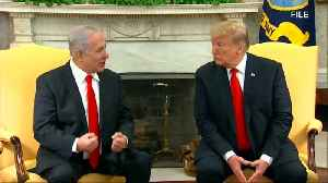 News video: Trump floats possible defense treaty with Israel