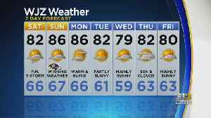 Bob Turk Has A Look At Your Friday Night Forecast [Video]