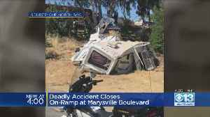 Deadly crash Closes On-Ramp At Marysville Boulevard [Video]