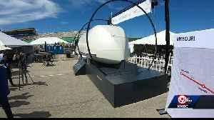 Hyperloop test pod on display at American Royal BBQ [Video]