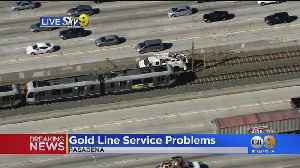 Metro Gold Line Down In Pasadena Due To Power Issue [Video]