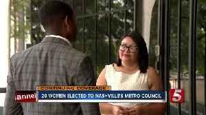 20 Women Elected to Nashville's Metro Council [Video]