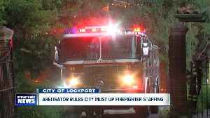 Arbitrator rules City of Lockport must restore firefighter staffing [Video]