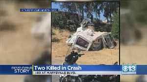 Two Killed In I-80 Crash Near Marysville Boulevard [Video]