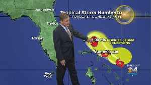 News video: Tropical Storm Humberto Forms
