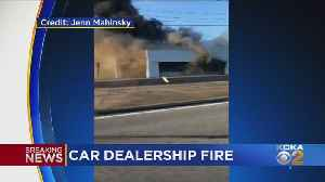 Former Westmoreland Co. Car Dealership Engulfed In Flames [Video]