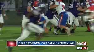 Cape Coral Seahawks vs Cypress Lake Panthers [Video]