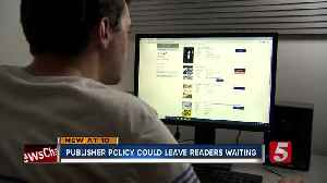 News video: Nashville Public Library says publisher's plan will keep e-readers waiting