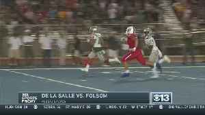 Sports Friday Week Three Big Game Of The Week - De La Salle at Folsom [Video]