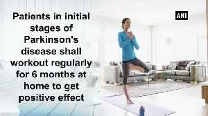 News video: Exercising at home has positive effect on Parkinson's patients Study