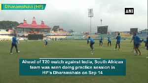 Ind vs SA T20I Team South Africa sweats it out ahead of match [Video]
