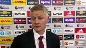 Solskjaer: Very pleased with clean sheet [Video]