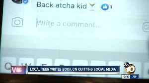 San Diego teen writes book on quitting social media [Video]