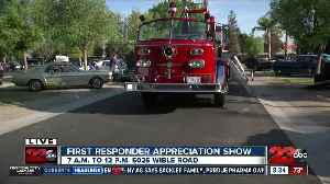 News video: 5th Annual First Responder Appreciation Day car show