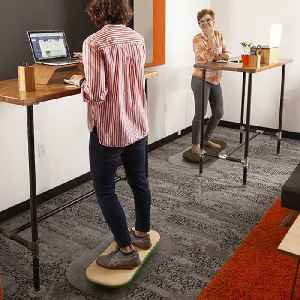 This balance board makes your standing desk a workout [Video]