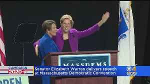 News video: Sen. Warren Delivers Speech At Mass. Democratic Convention