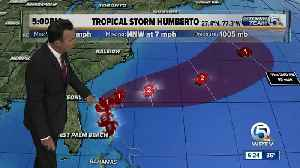 Tropical Storm Humberto update - 9/14/19 [Video]