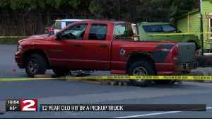 12-year-old boy airlifted to Syracuse Hospital after being hit by a truck in Old Forge [Video]