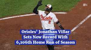Jonathan Villar's New Record [Video]