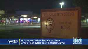 11 Arrested After Brawls At Bear Creek High School Football Game [Video]