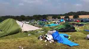 Festival Crowd Leave Filthy Field Behind [Video]