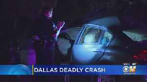 News video: Police: 2 Women Killed In Crash Caused By Suspected Drunk Driver In Dallas