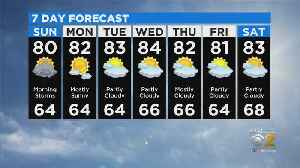 News video: CBS 2 Weather Watch 10 p.m. 9-14-19