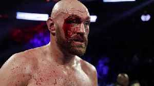 Tyson Fury overcomes deep cut to take points victory over Otto Wallin [Video]