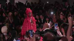 Naomi Campbell hits the catwalk at London Fashion Week
