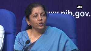 Inflation under control, there are signs of revival of industrial production FM Sitharaman [Video]