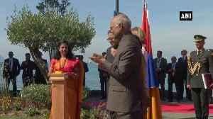 President Kovind unveils bust of Mahatma Gandhi in Switzerland Villeneuve [Video]