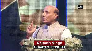 Pakistan will be broken into pieces if it continues religion based politics Rajnath Singh [Video]