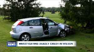 Fatal accident in Town of Wilson [Video]