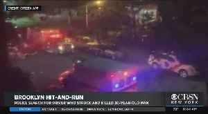 Police Search For Driver Who Struck And Killed 1 Person In Brookyn [Video]