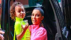 Kim Kardashian 'Got in Trouble' With Kanye For Daughter North Wearing Makeup [Video]