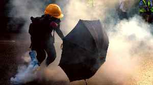 Hong Kong protests: Police use tear gas on demonstrators