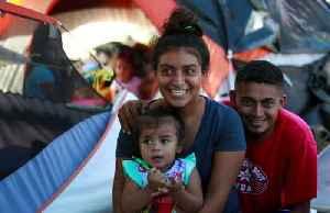 News video: Honduran newlyweds cling to asylum dream, as chances dim
